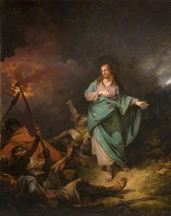 The Betrayal of Christ | Philippe-Jacques de Loutherbourg | Oil Painting