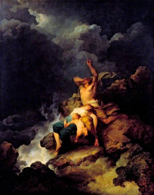 The Flood | Philippe-Jacques de Loutherbourg | Oil Painting
