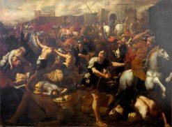 Battle | Aniello Falcone | Oil Painting