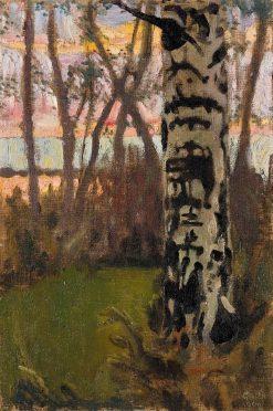 Sunset | Akseli Gallen-Kallela | Oil Painting