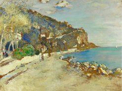 Beaulieu-Sur-Mer   Jean-Francois Raffaëlli   Oil Painting