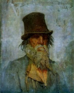Portrait of a Peasant | Sergei Ivanov | Oil Painting