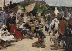 The Fair | Sergei Ivanov | Oil Painting