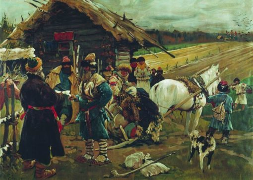 The Day of St. George | Sergei Ivanov | Oil Painting