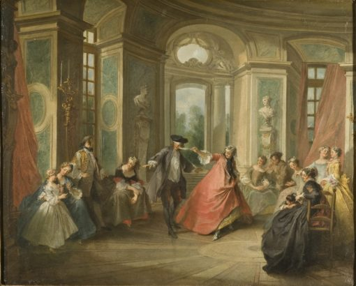 Blind Mans Buff | Nicolas Lancret | Oil Painting