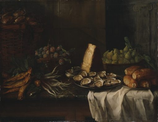 Breakfast Piece with Oysters | Francois Desportes | Oil Painting