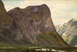 From Horgheim in Romsdal   Johan Fredrik Eckersberg   Oil Painting