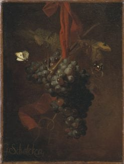 Bunch of Grapes | Godfried Schalcken | Oil Painting
