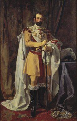 King Karl XV | Johan Fredrik Hockert | Oil Painting