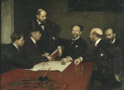 The Council of the Society of Artists | Richard Bergh | Oil Painting