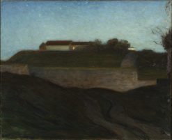 The Fortress of Varberg | Richard Bergh | Oil Painting