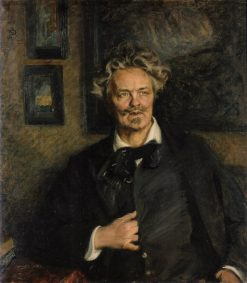 Portrait of August Strindberg | Richard Bergh | Oil Painting