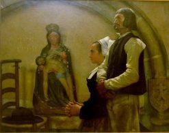 Visite a le Vierge de Benodet | Jean-Eugène Buland | Oil Painting