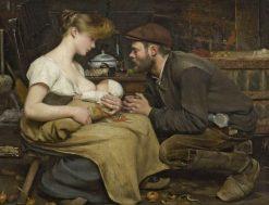 Happy Parents | Jean-Eugène Buland | Oil Painting