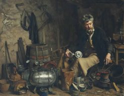 Le Retameur | Jean-Eugène Buland | Oil Painting