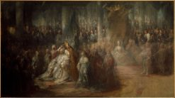 The Coronation of King Gustav III of Sweden | Carl Gustaf Pilo | Oil Painting