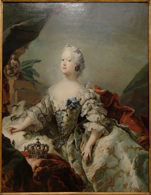 Queen Louise of Denmark in her Coronation Robes | Carl Gustaf Pilo | Oil Painting