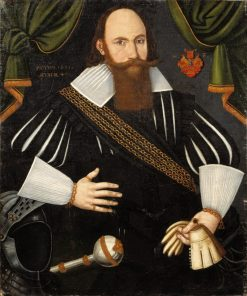 Henrik Fleming | Jacob Heinrich Elbfas | Oil Painting