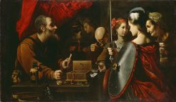 Achilles Among the Daughters of Lycomedes | Pietro Paolini | Oil Painting