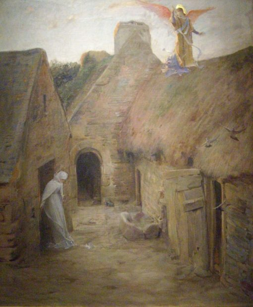 The Annunciation | Luc-Olivier Merson | Oil Painting