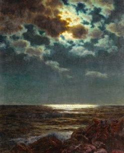 Moonlit Night | Ivan Fedorovich Choultse | Oil Painting