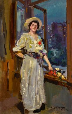 After the Ball | Constantin Alexeevich Korovin | Oil Painting