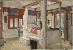 Daddys Room | Carl Larsson | Oil Painting