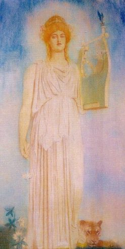 Orphee   Fernand Khnopff   Oil Painting