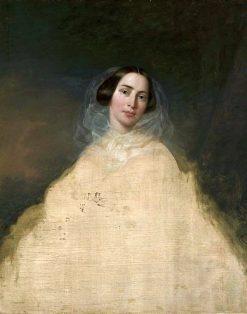Portrait of a Lady | Jozef Simmler | Oil Painting