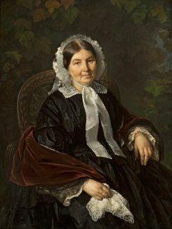 Portrait of Matylda Wernerowa | Jozef Simmler | Oil Painting