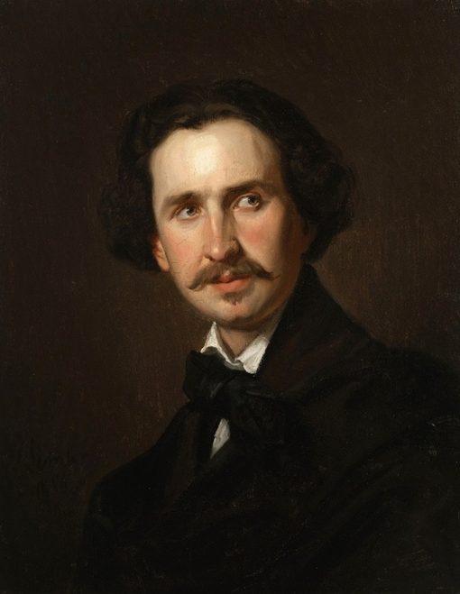 Edward Petzold   Jozef Simmler   Oil Painting