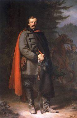 Portrait of Ludwik Mycielski | Jozef Simmler | Oil Painting