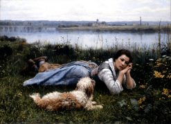 Reverie | Daniel Ridgway Knight | Oil Painting