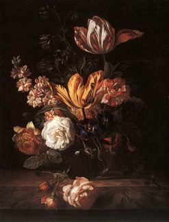 Flower Still-life | Jakob Bogdány | Oil Painting