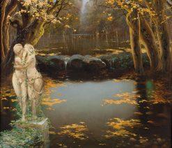 The golden hour | Enrique Serra y Auque | Oil Painting