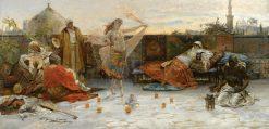 On The Terrace | Enrique Serra y Auque | Oil Painting