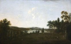 Mount Edgcumbe and Plymouth Sound from Saltram | William Tomkins | Oil Painting