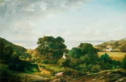 View in the South West of England | William Tomkins | Oil Painting