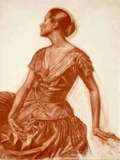 Portrait of Salome Andronikova | Alexander Evgenievich Yakovlev | Oil Painting