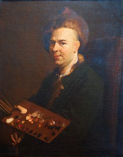Self Portrait | Jacob van Schuppen | Oil Painting