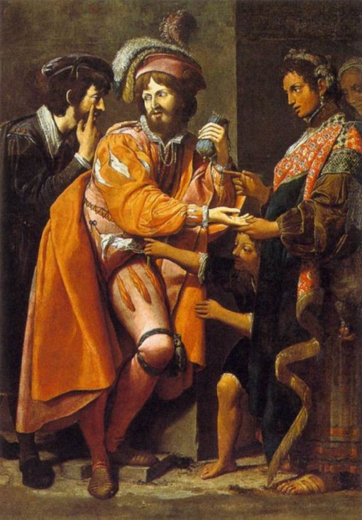 The Gypsy Fortune Teller | Leonello Spada | Oil Painting
