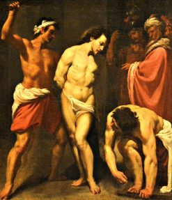 The Flagellation of Christ | Leonello Spada | Oil Painting