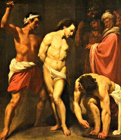 The Flagellation of Christ | Leonello Spada | Oil Painting