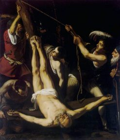 Martyrdom of St Peter | Leonello Spada | Oil Painting