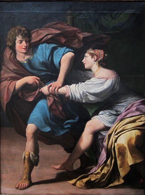 Joseph and Potiphars Wife | Leonello Spada | Oil Painting