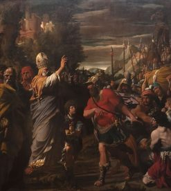 Melchizedek Blessing Abraham | Leonello Spada | Oil Painting