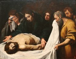 The Lamentation over the Dead Christ | Leonello Spada | Oil Painting