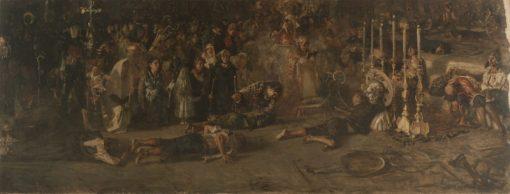 The Vote | Francesco Paolo Michetti | Oil Painting