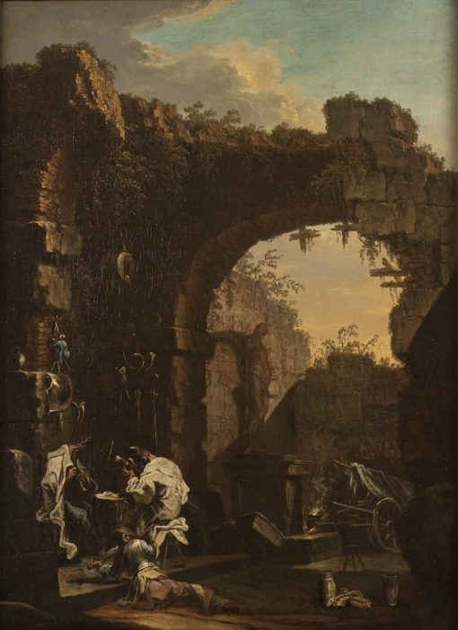 Concert in the Ruins | Alessandro Magnasco | Oil Painting