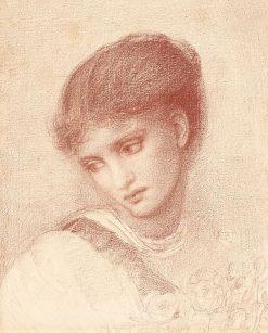 Portrait of Maria Zambaco | Sir Edward Burne-Jones | Oil Painting